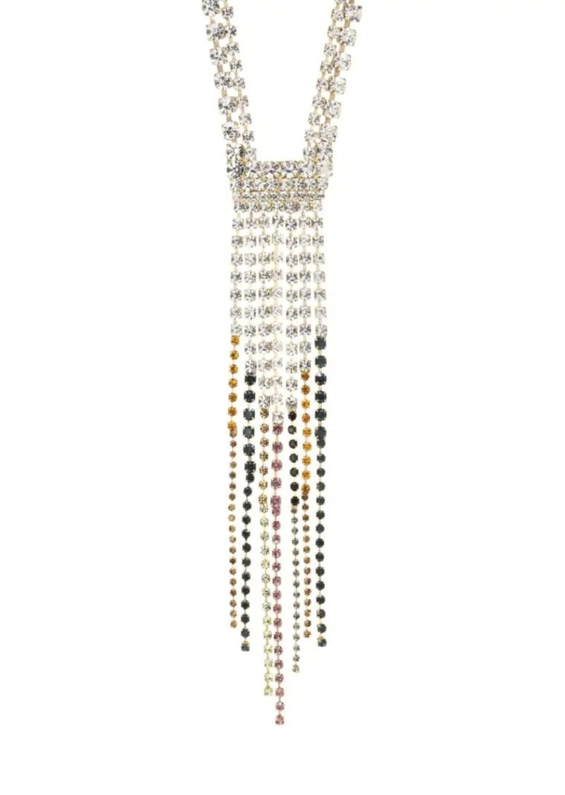 Rosantica Sublime Multicolor Crystal Fringe Necklace