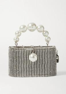 Rosantica Super Holli Embellished Silver-tone Tote