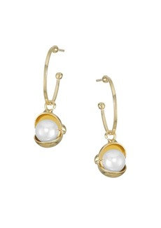 Rosantica Vendette Faux Pearl Earrings