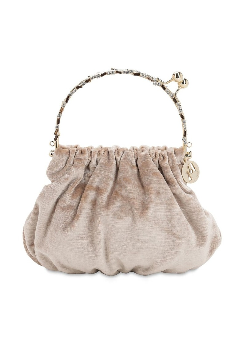 Rosantica Versailles Satin Top Handle Bag