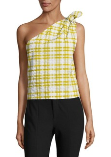 Rosie Assoulin Checkered Top