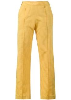 Rosie Assoulin cigarette moire blend trousers