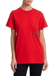 Rosie Assoulin Cotton Floral-Print Tee