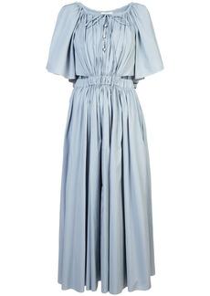 Rosie Assoulin long gathered detail dress