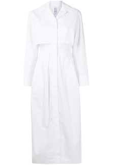 Rosie Assoulin long-sleeve cotton midi dress