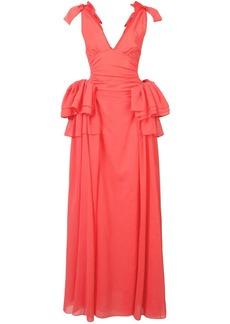 Rosie Assoulin maxi ruffle dress