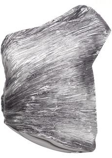 Rosie Assoulin one-shoulder top