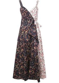 Rosie Assoulin printed maxi wrap dress