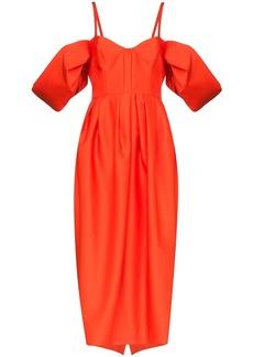 Rosie Assoulin puff sleeve midi dress