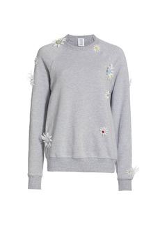 Rosie Assoulin Removable Daisies Sweatshirt