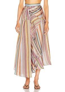 Rosie Assoulin Asymmetrical Volume Skirt