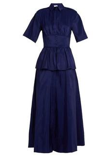 Rosie Assoulin Boogie Woogie silk-faille dress
