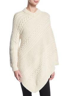 Rosie Assoulin Grandma's Blanket Poncho