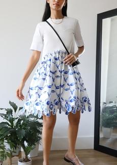 Rosie Assoulin Short Ebbs & Flows Dress