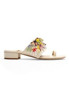 Rosie Assoulin Swarovski-embellished sandals