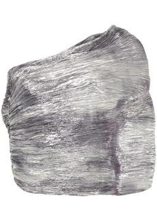 Rosie Assoulin Cocoon One-Shoulder Top