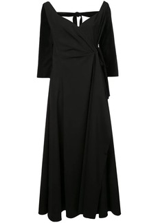 Rosie Assoulin side tie maxi dress