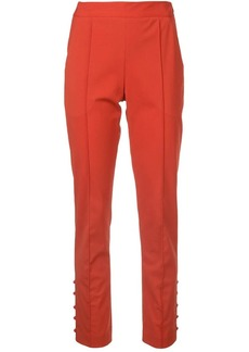 Rosie Assoulin straight-leg cigarette trousers