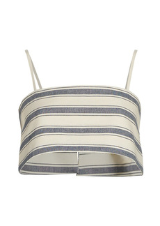 Rosie Assoulin Striped Easy Bandeau Top