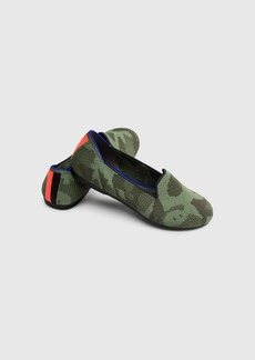 Rothy's The Kids Loafer Olive Camo