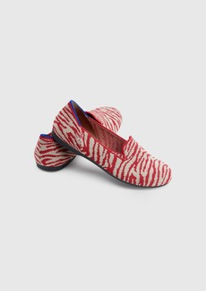 Rothy's The Kids Loafer Red Zebra