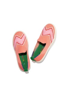 Rothy's The Kids Sneaker Melon Terry Bolt