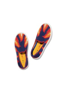Rothy's The Kids Sneaker Navy Flames