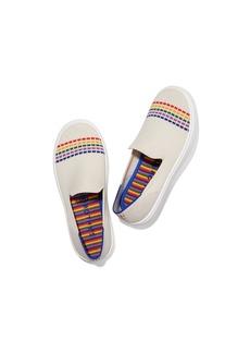Rothy's The Kids Sneaker White Rainbow