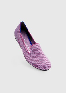 Rothy's The Loafer Amethyst Metallic Herringbone