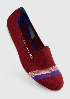 Rothy's The Loafer Garnet Reflective Stripe