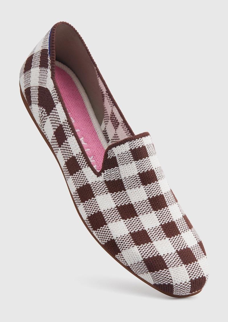 The Merino Square Loafer Chestnut Check
