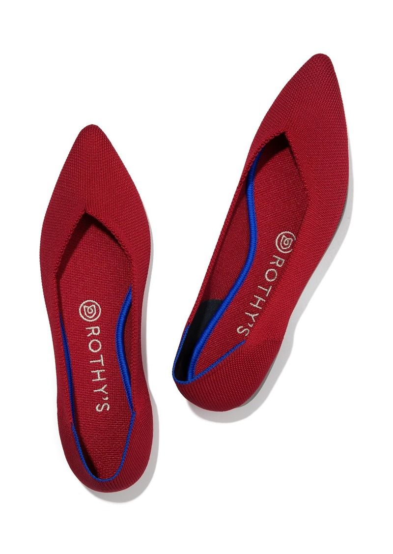 Rothy's The Point Chili Red | Shoes
