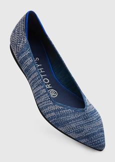 Rothy's The Point Indigo Heather