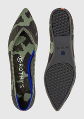 Rothy's The Point Olive Camo