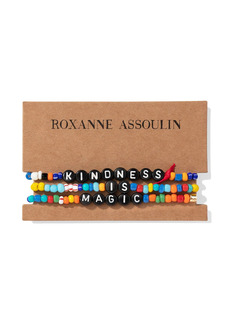 ROXANNE ASSOULIN Camp beaded bracelets