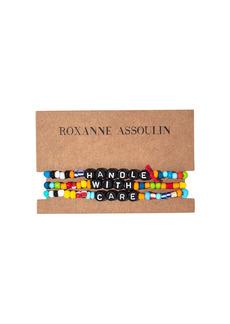 ROXANNE ASSOULIN Handle With Care camp bracelets