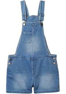 Roxy Better Now Short Overalls (Little Kids/Big Kids)