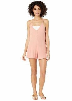 Roxy Chill Love Knit Romper Cover-Up