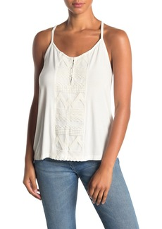 Roxy Crazy Memories Embroidered Tank