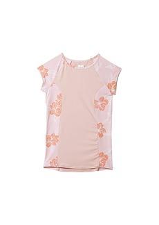 Roxy Fashion Lycra Short Sleeve Rashguard