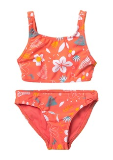Roxy Fruity Shake Crop Top Set (Toddler & Little Girls)