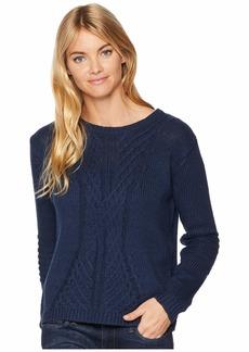 Roxy Glimpse Of Romance Crew Neck Sweater