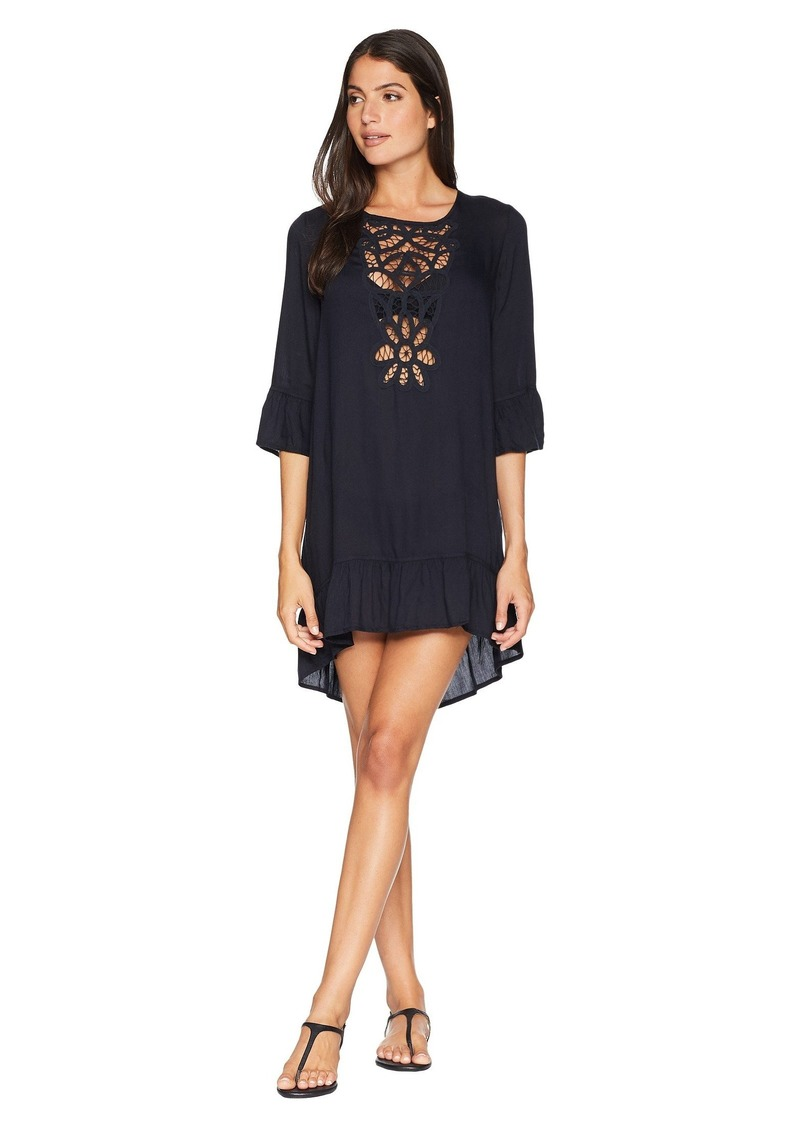 Roxy Goldy Soul Long Sleeve Dress Cover-Up