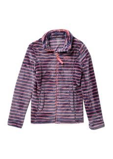 Roxy Igloo Stripe Zip Jacket (Big Girls)