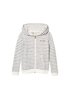 Roxy Lighter Day Stripe Fleece Top (Little Kids/Big Kids)