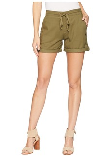 Roxy Love At Two Non-Denim Elastic Waist Shorts