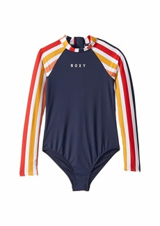 Roxy Lovin Swim Long Sleeve One-Piece (Big Kids)