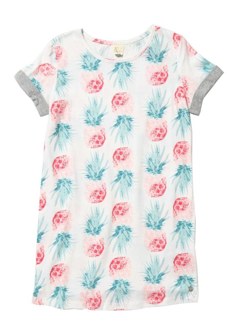 Roxy Night Jungle T-Shirt Dress (Big Girls)