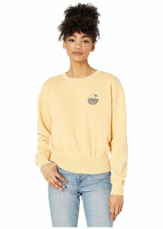 Roxy Radio Silence Cropped Pullover Fleece