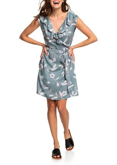 Roxy Rivello With You Floral Wrap Dress